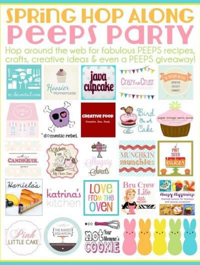 Quick & Easy PEEPS Treats, A PEEPS Giveaway <BR>And A PEEPS Hop Along Party