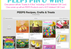 PEEPS Pin And Win Contest at Love From The Oven