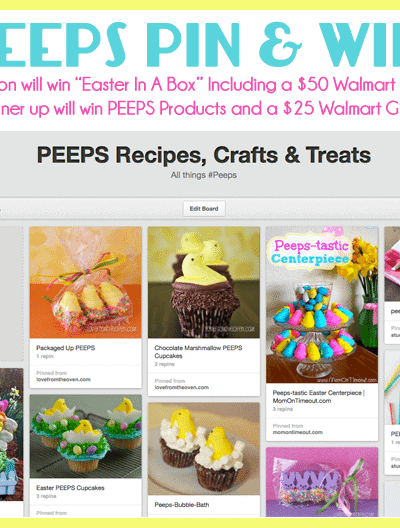 PEEPS Pinterest Contest – PEEPS Pin & Win