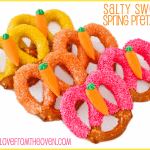 Salty Sweet Easter Pretzels