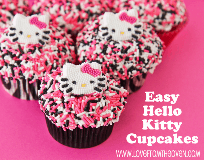 Hello Kitty Cake Other Character Decorating Ideas Love From The Oven