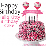 Hello Kitty Cake & Other Character Decorating Ideas