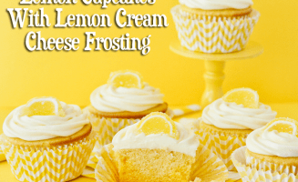 Lemon Ombre Cupcakes With Lemon Cream Cheese Frosting by Love From The Oven