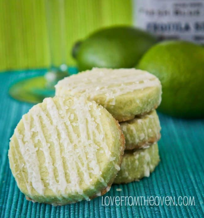 Margarita Cookies With Salty Sweet Tequila Glaze - Love From The Oven