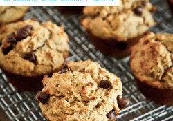 Peanut Butter Chocolate Chip Cookie Muffins by Love From The Oven