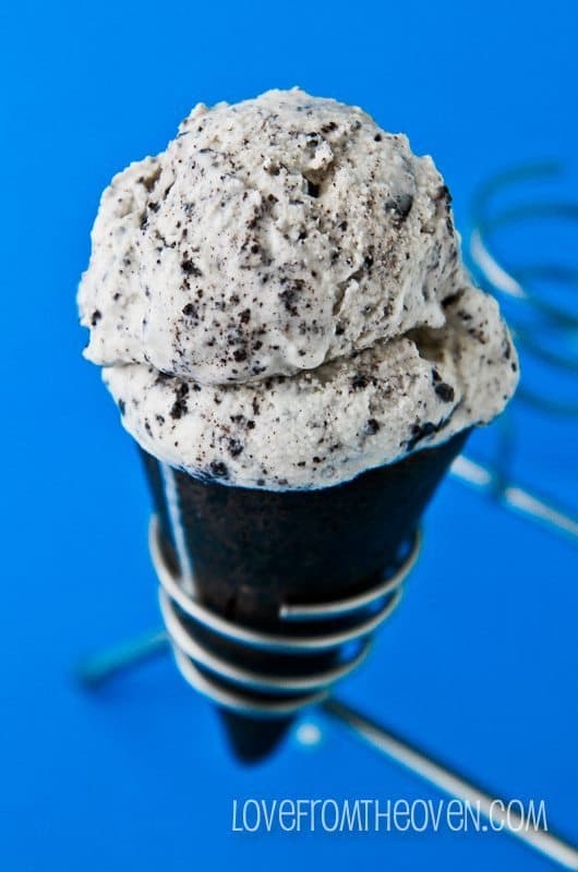 Easy Homemade Cookies And Cream Ice Cream