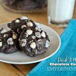 Dark & White Chocolate Cookie Recipe