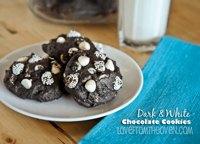 Dark & White Chocolate Cookie Recipe