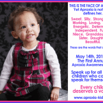 First National Apraxia Awareness Day – May 14, 2013