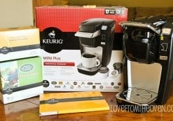 Keurig Coffee Maker Giveaway at Love From The Oven