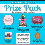 Cupcake Couture Blog Party, A Giveaway <BR>& Cake Pop Topped Pink Velvet Cupcakes