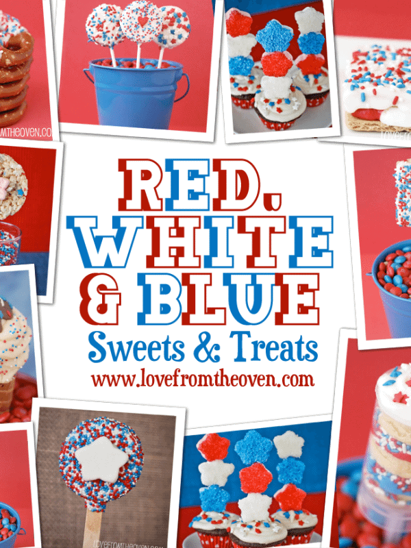 Easy Red White And Blue Sweets & Treats