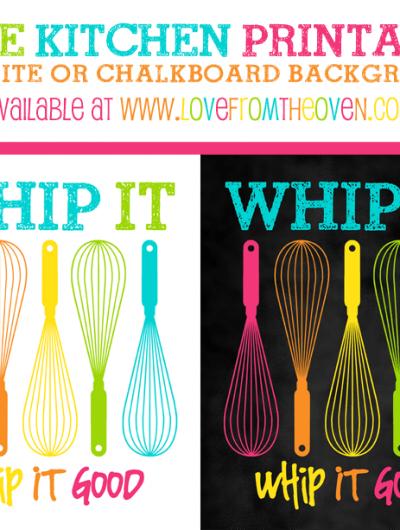 Free Kitchen Printable Sign