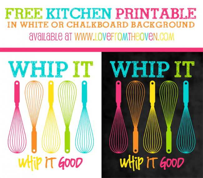 It is a picture of Free Kitchen Printable inside sign