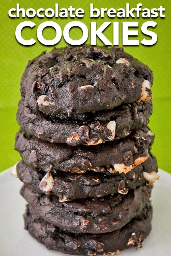 Easy Chocolate Breakfast Cookies
