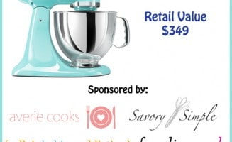 Kitchen Aid Stand Mixer Giveaway at Love From The Oven