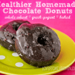 Delicious Donuts Made With Whole Wheat And Greek Yogurt