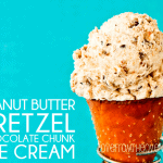 Peanut Butter Pretzel Chocolate Chunk Ice Cream