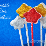 Sparkle Star Marshmallow Pops