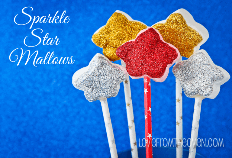 Sparkle Star Mallows by Love From The Oven