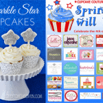 Sparkle Star Cupcakes And Blog Party Giveaway