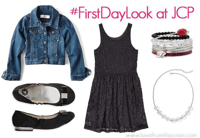 #FirstDayLook at JCP by Love From The Oven