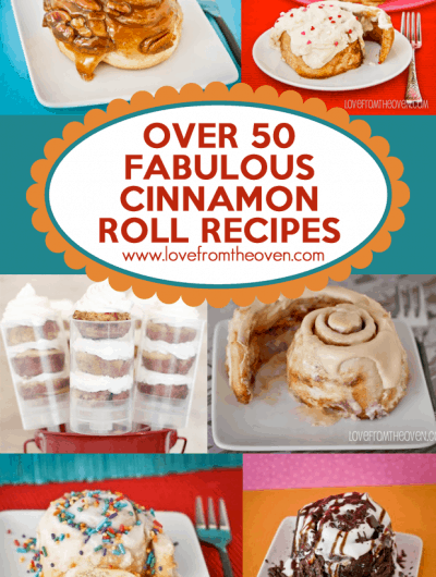 Cinnamon Roll Recipe Round Up Over 50 Deliciously Drool Worthy Cinnamon Roll Recipes From Around The Web