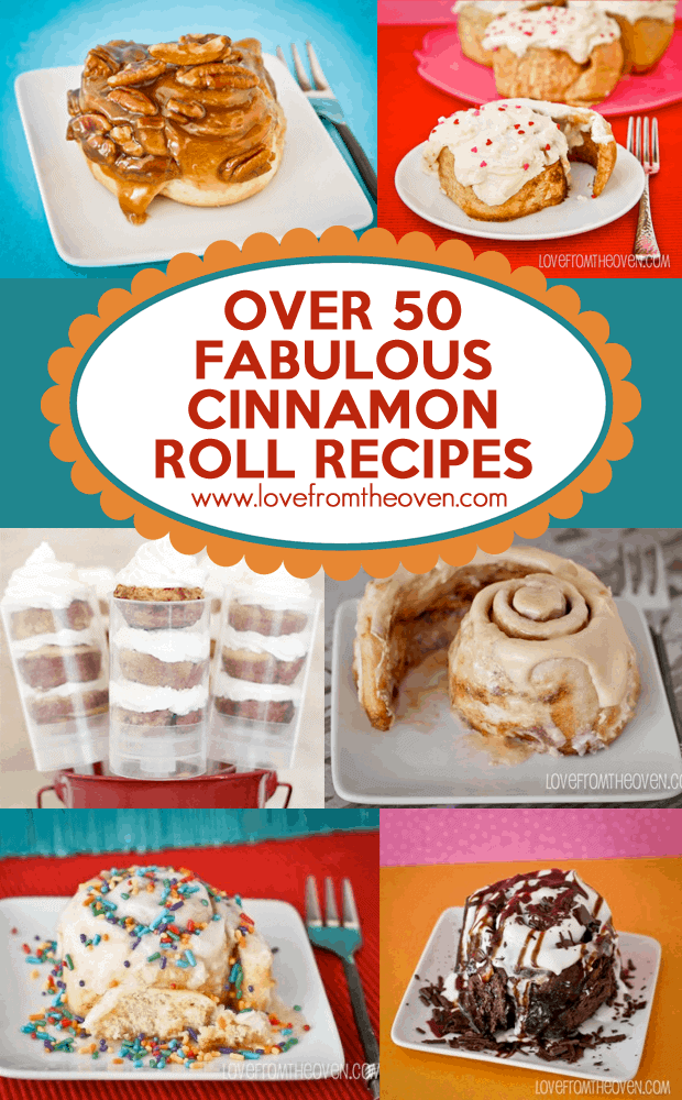 Over 50 Fabulous Cinnamon Roll Recipes