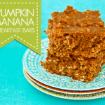 Pumpkin Banana Breakfast Bar Recipe