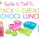 Lunch Box Supplies And Tools To Pack A Great School Lunch