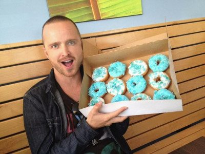 Breaking Bad Donuts with Aaron Paul - Jesse