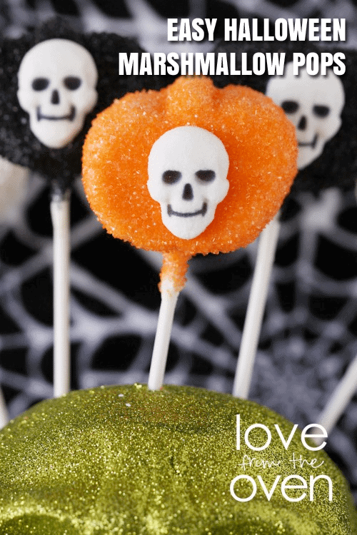 Halloween Pumpkin Pops