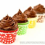 Chocolate Raspberry Brownie Cupcakes