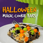 Halloween Magic Cookie Bars