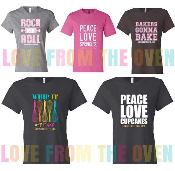 Love From The Oven T-shirts