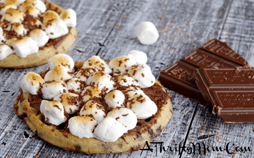 how to cook eggo waffles in the oven