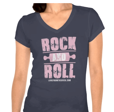 Rock And Roll Baking Tshirt