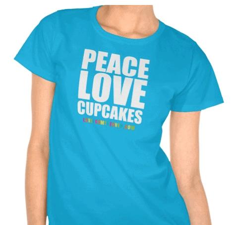 Cute Cupacke T Shirt