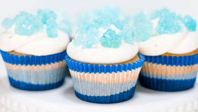 Breaking Bad Blue Sky Cupcakes