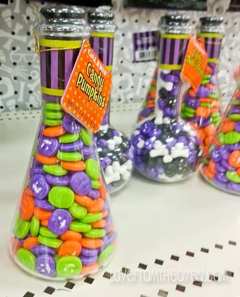 Halloween products at Target