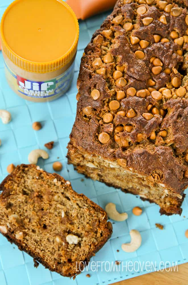 Nut Butter Banana Bread