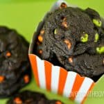 Chocolate Chocolate Halloween Cookies