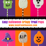 Halloween Crispy Treat Pops