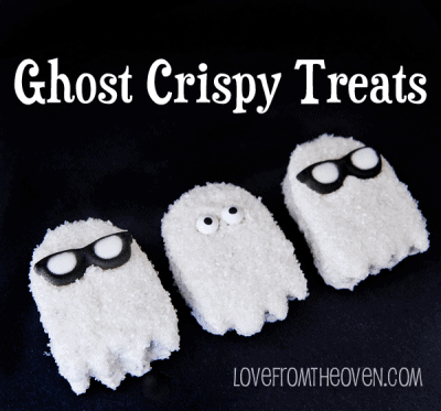 Ghost Crispy Treats