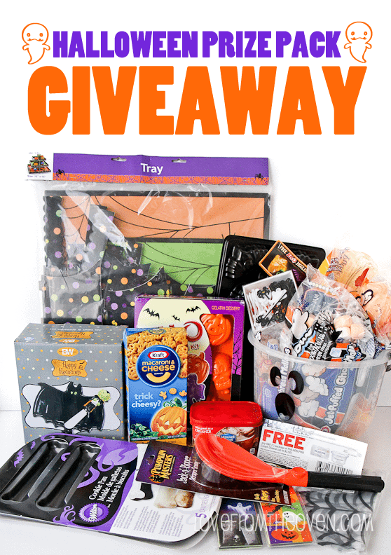 HALLOWEEN PRIZE PACK GIVEAWAY AT LOVE FROM THE OVEN