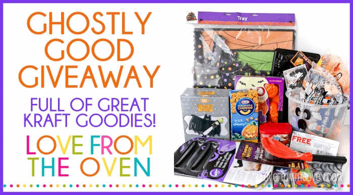 Halloween Giveaway at Love From The Oven