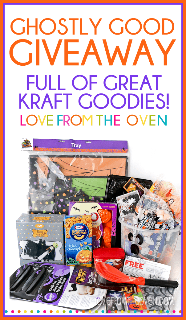Halloween Goodies Giveaway at Love From The Oven