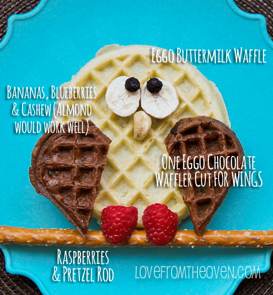 How To Make An Owl Waffle
