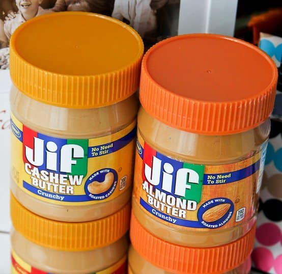 Jif No Stir Nut Butters