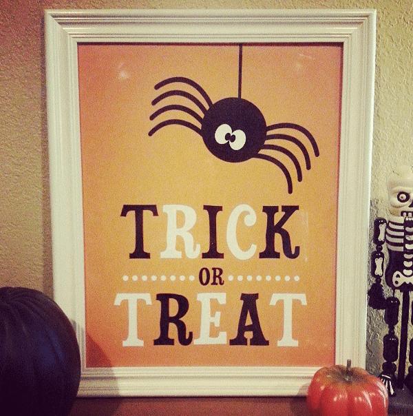 Free Halloween Printable Sign